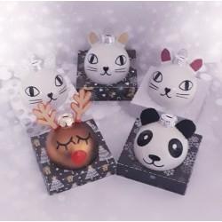 Boule de Noël «animaux» -...