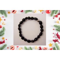 """Bracelet """"tourmaline noire""""..."""